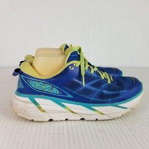 Hoka One One Sz 9 Blue Clifton 2 Running Athletic